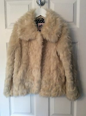 Juicy Couture Girls's Faux Fur Jacket...Age 8/10