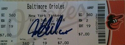 New York Yankees Jonathan Holder Autographed MLB Debut Ticket
