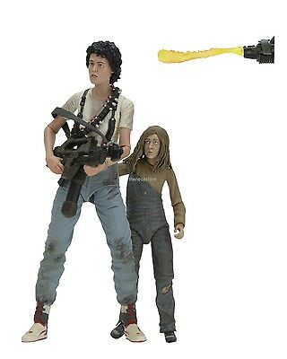 "Aliens - 7"" Scale Action Figures - 30th Anniversary 2 Pack  Ripley & Newt - NECA"