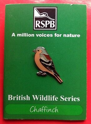 RSPB-A Million Voices For Nature CHAFFINCH Pin Badge
