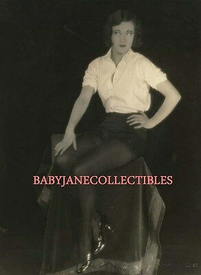 JOAN CRAWFORD SILENT HOLLYWOOD YOUNG CHEESECAKE photo L118