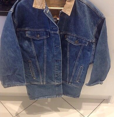 "Mens Vintage Denim Blue Levi's Jacket Size Small 38"" Chest"