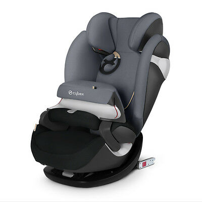 Car Seat Cybex Pallas M-Fix gold line collection Graphite Black 1/2/3 (9-36 kg)