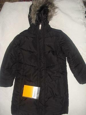 BNWT Regatta Black Padded Winter Coat, Girls age 3-4 Years