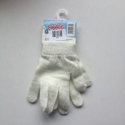 Boys & Girls Magic White Gloves / New