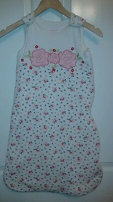 Toddler Girls Sleeping Bag. 6-18 months. 2.5 Tog.