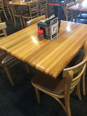 Butcher Block Dining Table and Chairs