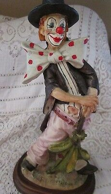Valentino by A Do-Limited Ed. #172 of 5000 Hand-painted Hobo Clown- Italy