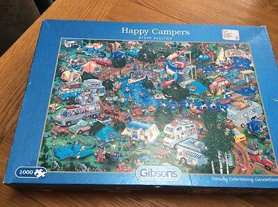 Gibsons 'Happy Campers' 1000 Piece Jigsaw Puzzle