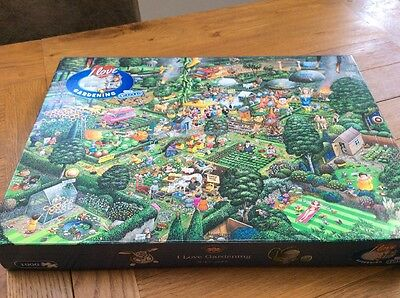 Gibsons 'I Love Gardening' 1000 Piece Jigsaw Puzzle