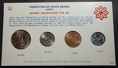 South Arabia (Aden, Yemen) Complete set 1964 Unc/BU