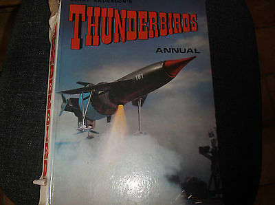 Thunderbirds Annual 1967 HB Rare but poor condition (Gerry Anderson)