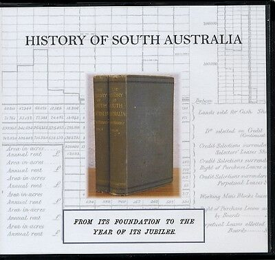 The History of South Australia: From Foundation to its Jubilee