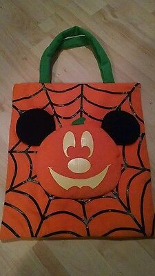 Disney Mickey Mouse glow in the dark bag