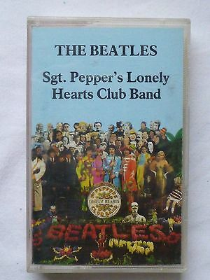 THE BEATLES Sergeant (Sgt) Pepper's Lonely Hearts Club Band : Cassette Tape