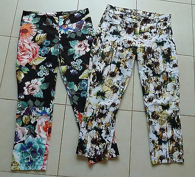 2 x MOTTO 3/4 pants Size 10