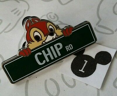 Chip Rd Road Chip n Dale Green Street Signs Mystery Box Disney Pin Buy 2 Save $