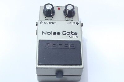 Free Ship Boss NF-1 Noise Gate Guitar Effect Pedal Made in Japan
