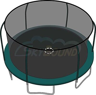 SkyBound 15ft Trampoline Replacement Safety Enclosure Net For Bounce Pro /