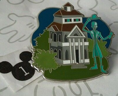 Haunted Mansion Ghost Retro Mystery Pin DLR Disneyland Happiest Place on Earth