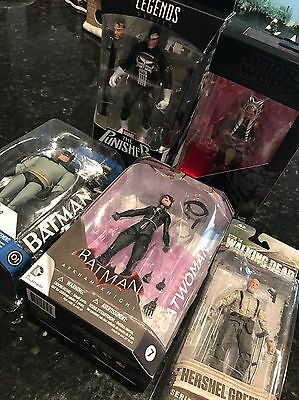 New Action Figures Lot