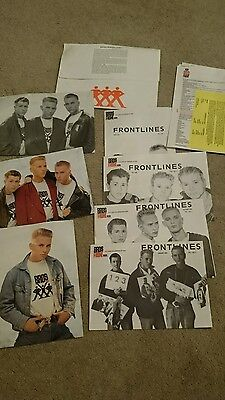 Bros Front membership pack from 1988