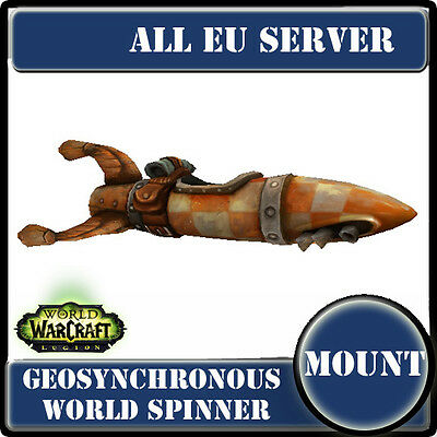 WoW Mount EU server--Geosynchronous World Spinner--File-monde géosynchrone