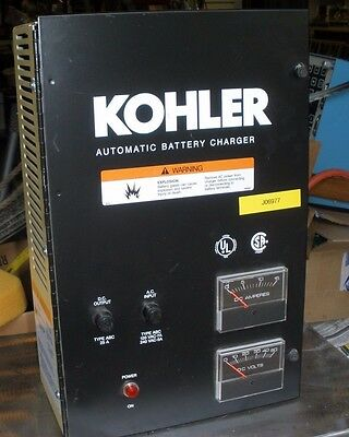 Kohler Power Systems Automatic Battery Charger 120/240 V 1 Phase D-2929864 USED