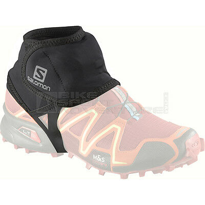 -- Salomon Ghette Trail Gaiters Low, Black (A07)