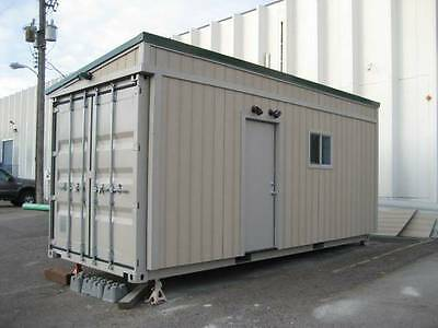 20' FT Shipping Container Home - 160 Sqft. - Brand New - Bunk House Cabin Garage