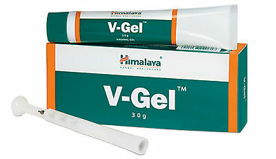 6 X V-GEL Himalya Herbal Vaginal infection Relieves Itching - LOWEST PRICE