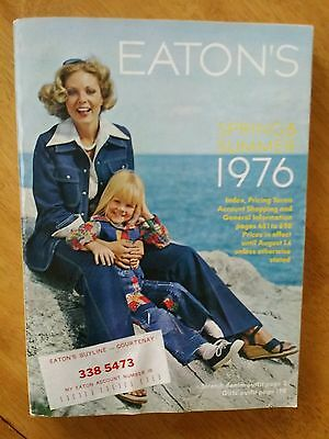 Eaton's Spring & Summer Catalog 1976 Vintage