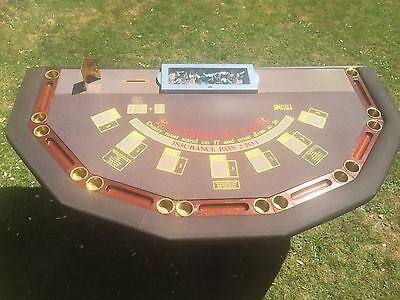 Full Size Casino Grade Blackjack Table