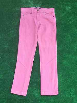 **Next Girls Corduroy Pink Trousers. Age: 10 Years**