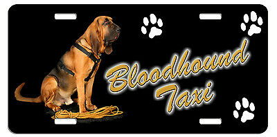 Bloodhound  Taxi Line License Plate (( SPECIAL LOW CLEARANCE PRICE ))