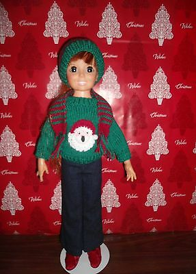 Crissy doll Christmas sweater outfit