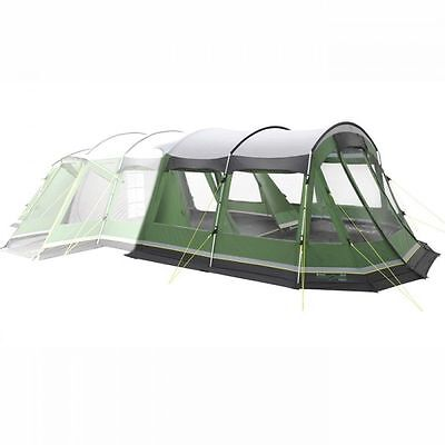 Outwell Montana 6 Man Person Camping Tent Awning in Green