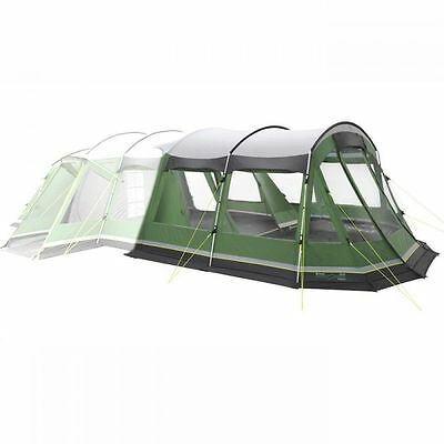Outwell Montana 6 Man Person Camping Tent Front Extension in Green