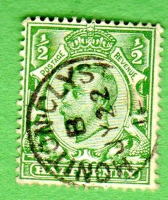 Great Britain Stamp Scott # 153  Used Lightly Hinged