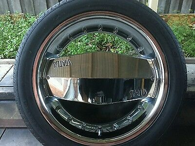 Ford territory/Toyota kluger chrome mag wheels and tyres 20 inch 5 stud multi