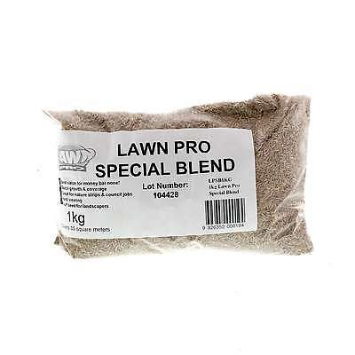Lawn Pro Special Blend Grass Seed 1kg Covers 35sqm