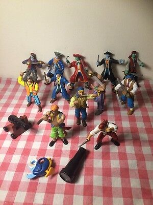 Bundle Of 12 Toy Pirate Figures - ELC and PAPO