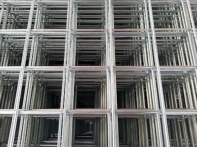 Galvanised Welded Wire Mesh Sheet / Panel