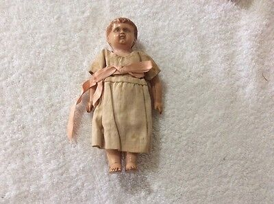 ANTIQUE GERMAN 14 CM Doll Turtle Schutz Mark 14