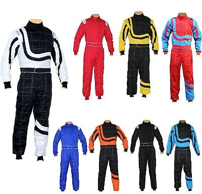 Kart/Karting/Race/Rally suits Adult Poly cotton One Piece Karting Suit New