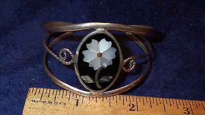 Silver Bracelet made in Mexico.