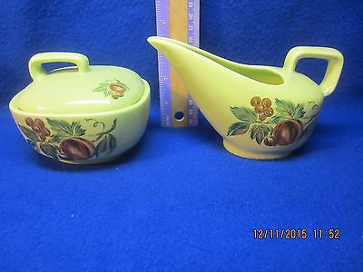 Flair by Salem French Provincial Sugar Bowl and Creamer