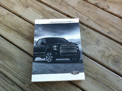 Ford F150 - 2016 - Owner's Manual - IN FRENCH - XF