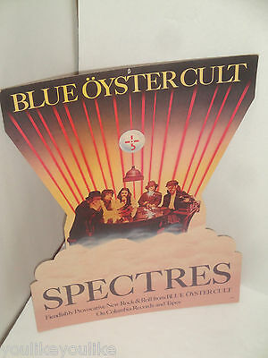 Blue Oyster Cult Boc Spectres Promotional Promo Poster Mobile Display Hang 1977