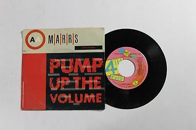 MARRS Pump Up The Volume 45 4th & Broadway 7452-C US 1987 VG++ PIC SLEEVE B3